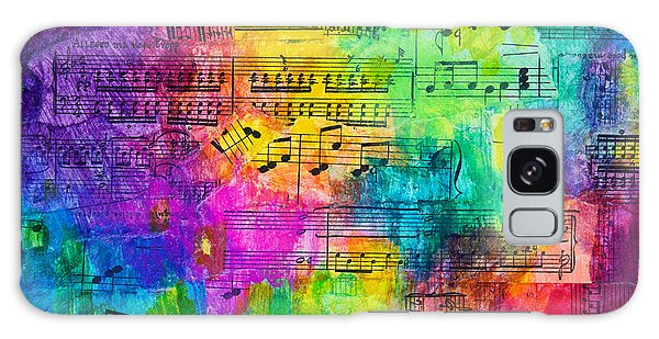 Colorful Symphony Galaxy Case