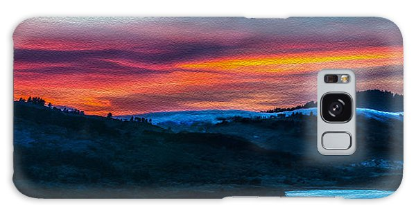 Colorful Twilight Panorama Galaxy Case by Mike Lee