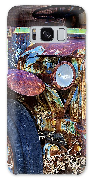 Colorful Vintage Car Galaxy Case by Phyllis Denton