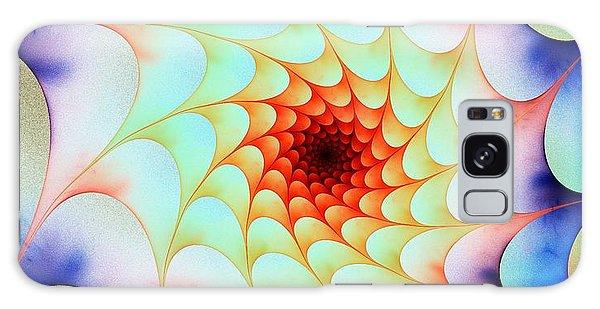Colorful Web Galaxy Case by Anastasiya Malakhova