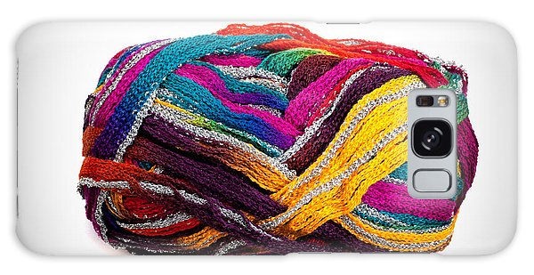 Colorful Yarn Galaxy Case