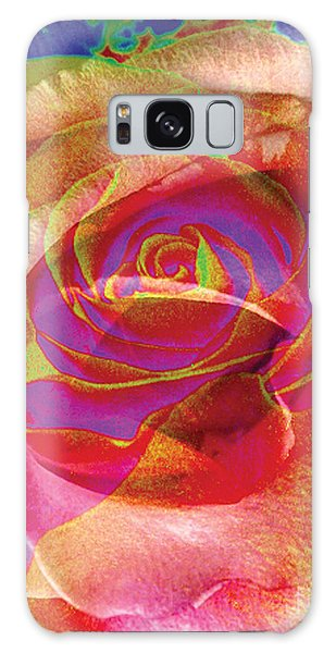 Colorfull Rose Galaxy Case