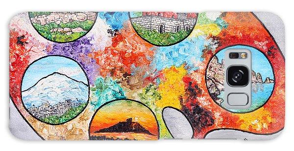 Colori Di Sicilia Galaxy Case by Loredana Messina