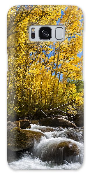 Colors And The Cascades Of South Fork Bishop Creek Galaxy Case