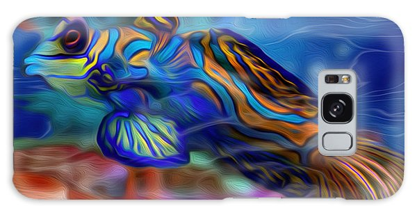 Ecosystem Galaxy Case - Colors Below 2 by Jack Zulli