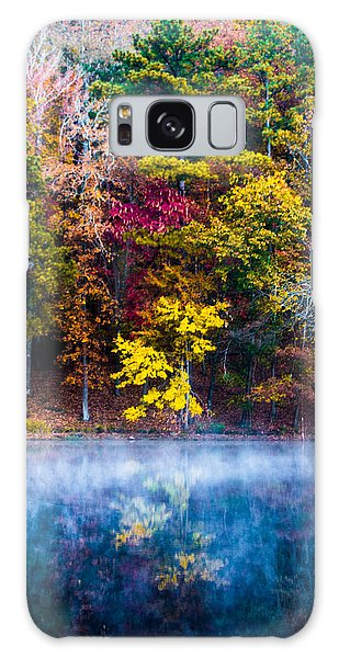 Colors In Early Morning Fog Galaxy Case by Parker Cunningham