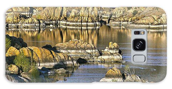 Colors In The Rocks At Watsons Lake Arizona Galaxy Case