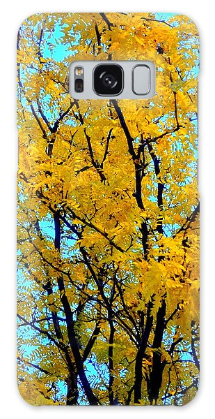Colors Of Fall - Smatter Galaxy Case