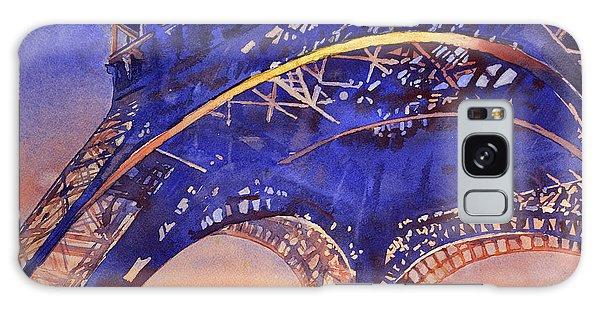 Colors Of Paris- Eiffel Tower Galaxy Case