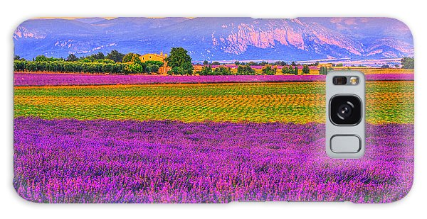 Colors Of Provence Galaxy Case