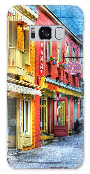 Quebec City Galaxy Case - Colors Of Quebec 20 by Mel Steinhauer