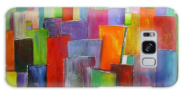 Colour Block 3 Painting Galaxy Case