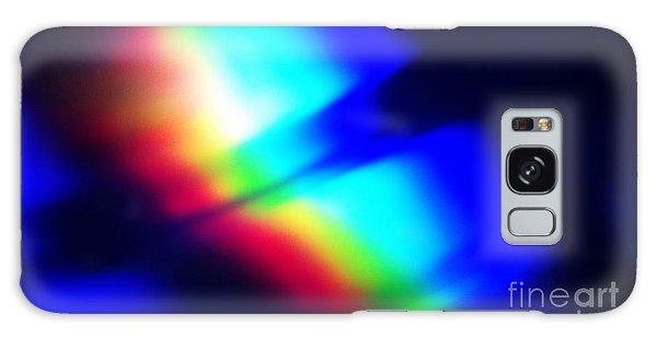 Coloured Light Galaxy Case by Martin Howard