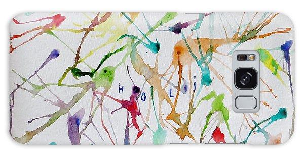 Colourful Holi Galaxy Case by Sonali Gangane