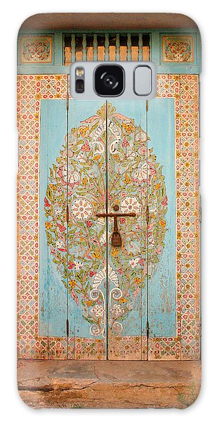 Colourful Moroccan Entrance Door Sale Rabat Morocco Galaxy Case