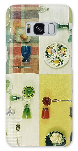 Colourful Table Settings Galaxy Case