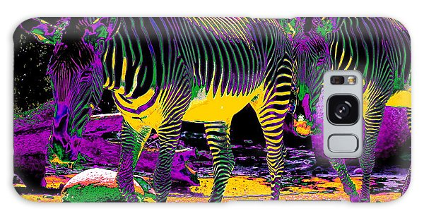 Colourful Zebras  Galaxy Case