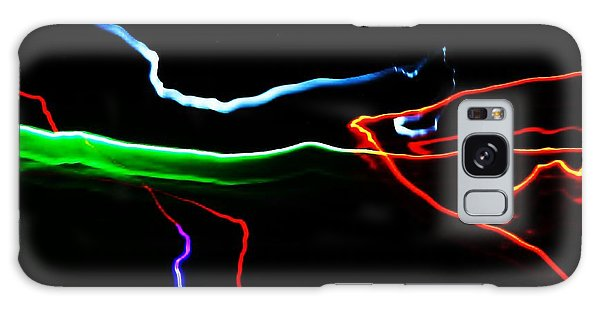 Colours At Midnight... Galaxy Case by Al Fritz