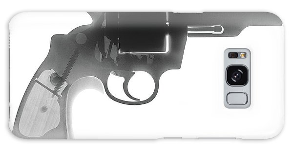 Calico M100 Galaxy Case - Colt 357 Magnum X Ray Photograph by Ray Gunz