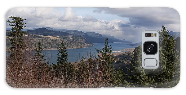 Columbia Gorge Galaxy Case by Belinda Greb