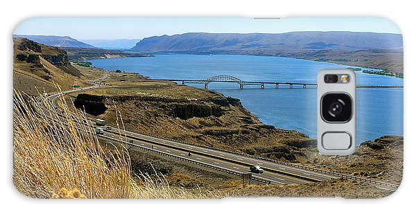 Columbia River Vantage Point Galaxy Case