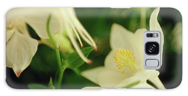 Aquilegia Galaxy Case - Columbine (aquilegia 'white Dove') by Rachel Warne/science Photo Library