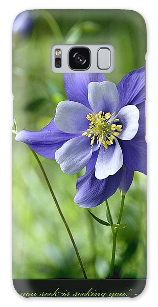 Columbine Card  Galaxy Case