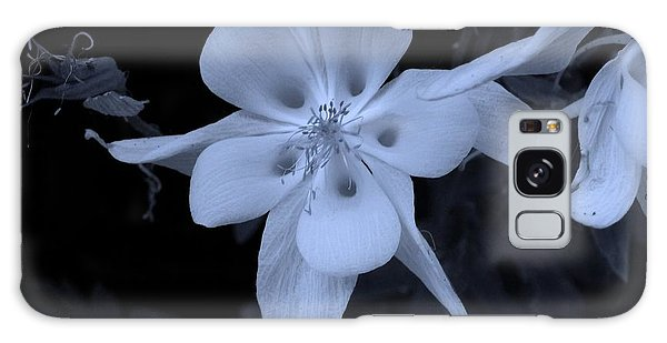 Columbine Flower Galaxy Case