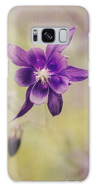 Susann Serfezi Galaxy Case - Columbine Flower by AugenWerk Susann Serfezi