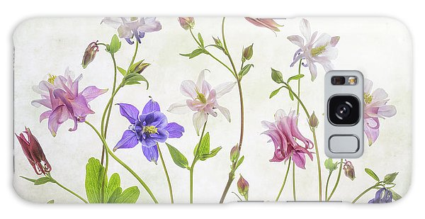 Aquilegia Galaxy Case - Columbine by Mandy Disher