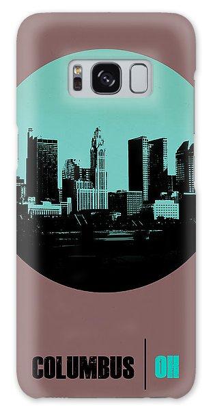 Downtown Galaxy Case - Columbus Circle Poster 2 by Naxart Studio