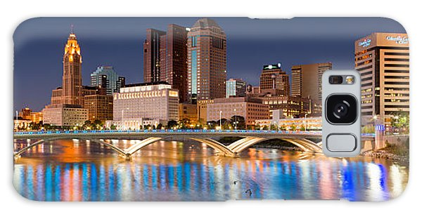 Columbus Ohio Pano  Galaxy Case