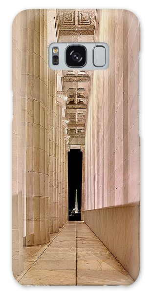 Columns And Monuments Galaxy Case
