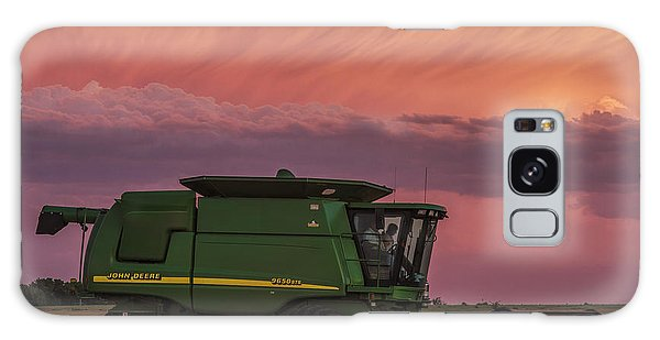 Combine At Sunset Galaxy Case