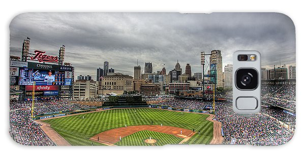 Comerica Park Home Of The Tigers Galaxy Case