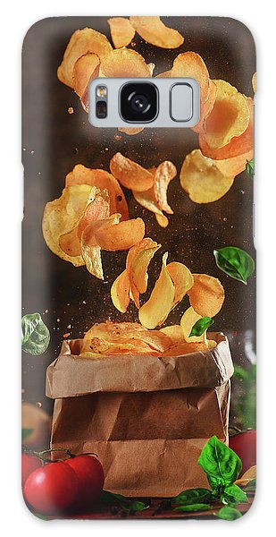 Herbs Galaxy Case - Comfort Food For Stormy Weather by Dina Belenko