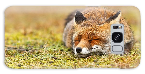 Safe Galaxy Case - Comfortably Fox by Roeselien Raimond
