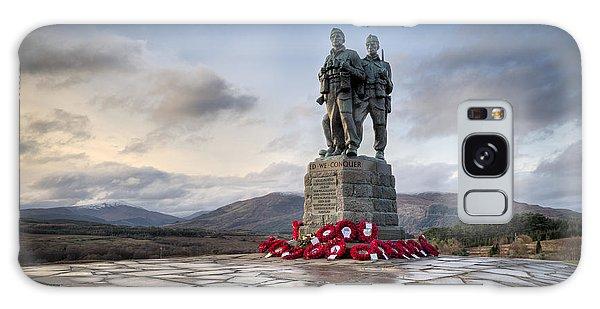 Commando Memorial At Spean Bridge Galaxy Case