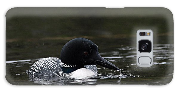 Common Loon 1 Galaxy Case by Larry Ricker