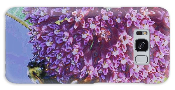 Common Milkweed Galaxy Case by Shirley Moravec
