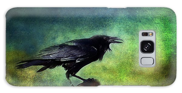 Common Raven Galaxy Case