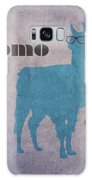 Llama Galaxy S8 Case - Como Te Llamas Humor Pun Poster Art by Design Turnpike