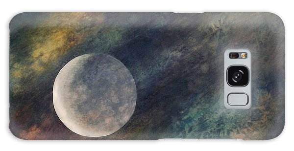 Companion Moon  Galaxy Case by Ursula Freer