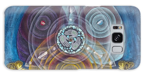 Compassionate Peace Galaxy Case
