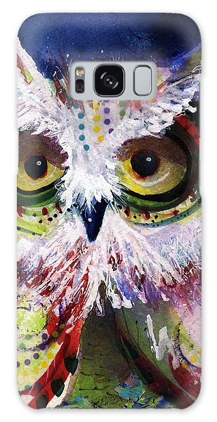 Complimentary Owl Galaxy Case