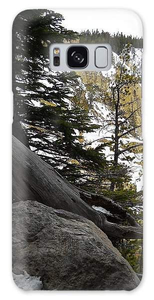 Composition At Lower Falls Galaxy Case by Michele Myers