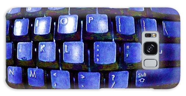 Computer Keyboard  Galaxy Case