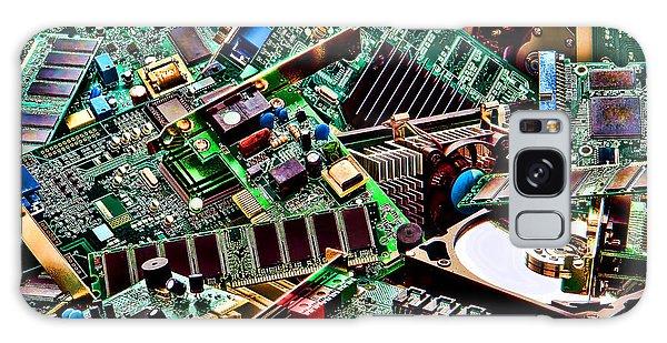 Computer Parts Galaxy Case