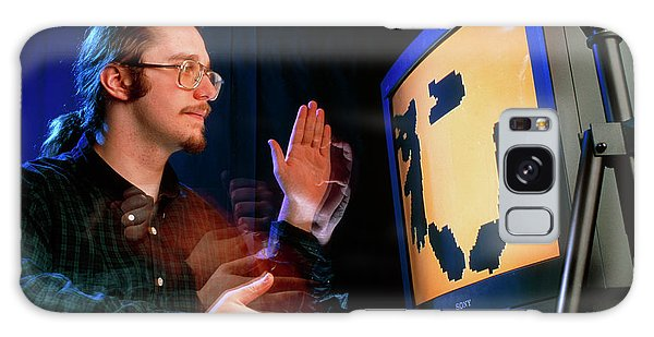 Language Galaxy Case - Computer Recognition Of Hand Sign Language by Sam Ogden/science Photo Library