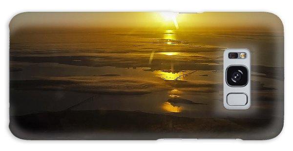 Conanicut Island And Narragansett Bay Sunrise II Galaxy Case
